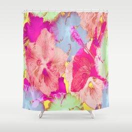 Hibiscuses Shower Curtain