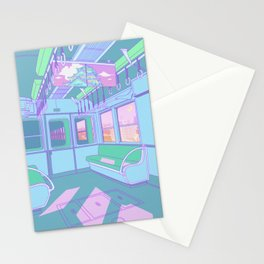 Train to Tokyo Stationery Cards