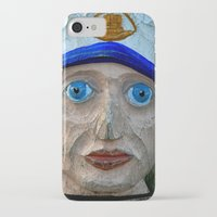 sailor iPhone & iPod Cases featuring Sailor by Fine2art