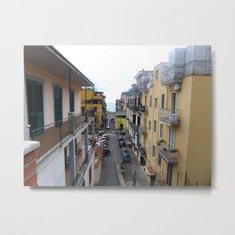 Alleyway in Pozzuoli  Metal Print