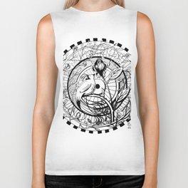 Bird and Rose Zendala Biker Tank