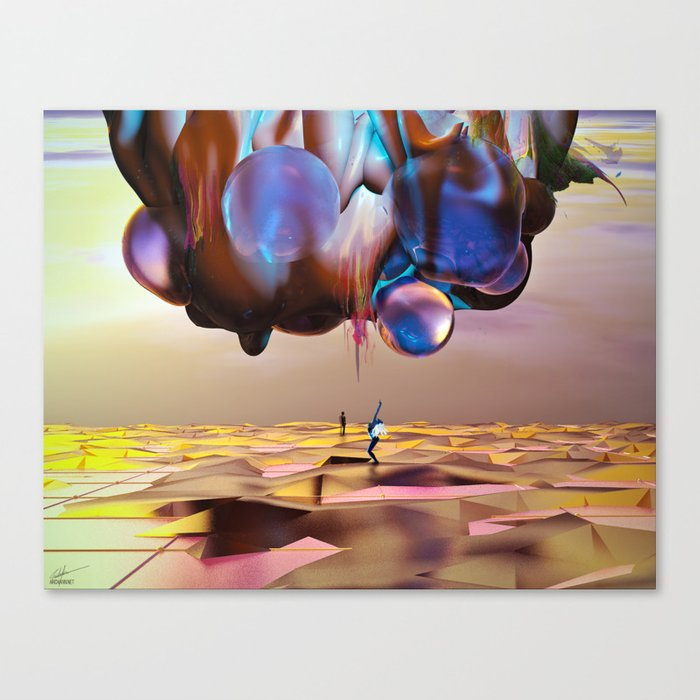 Frequency Shift Canvas Print
