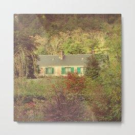 Monet's Hidden House - Giverny, France Metal Print
