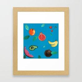 Tutti Frutti Framed Art Print