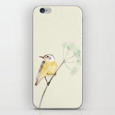 Yellow bird 2 iPhone & iPod Skin