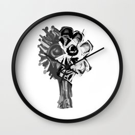 SIDE OF FACE Wall Clock