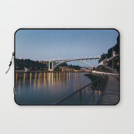 Arrabida bridge (II) Laptop Sleeve