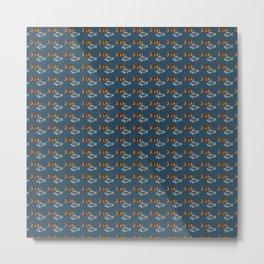 Fishies Pattern Metal Print