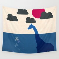 south africa Wall Tapestries featuring Africa by Mehdi Elkorchi