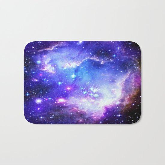 Galaxy Blue Bath Mat