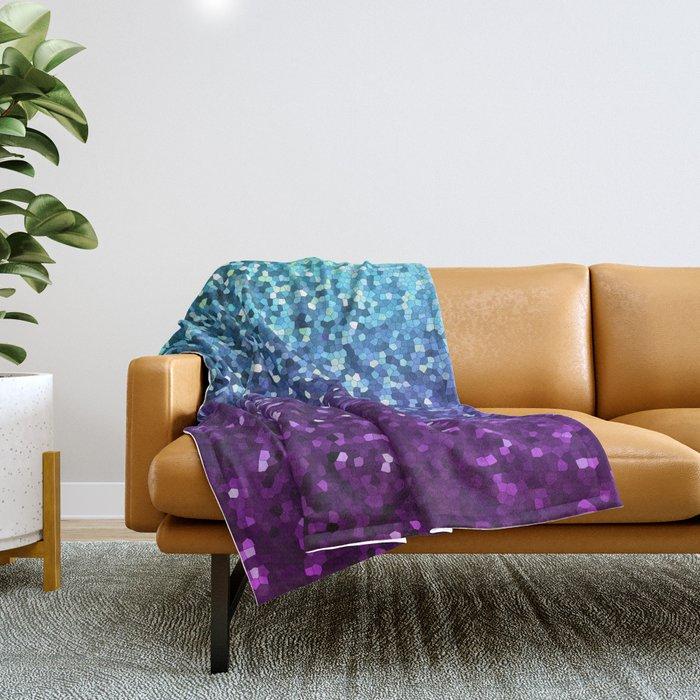 Mosaic Sparkley Texture G198 Throw Blanket