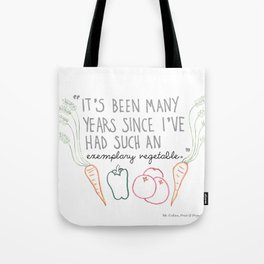 An Exemplary Vegetable Tote Bag