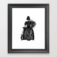 armour Framed Art Print
