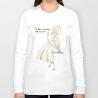 marie antoinette Long Sleeve T-shirts featuring Marie Antoinette by DanniSketches