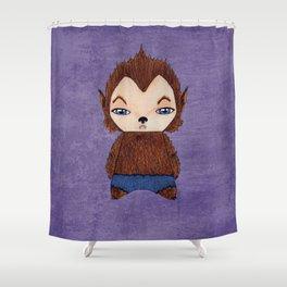 A Boy - Werewolf Shower Curtain