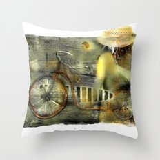 My Scooter Throw Pillow