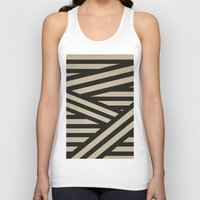 decal Tank Tops featuring Bandage by Charlene McCoy