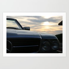 Oh Lord, wont'cha buy me a Mercedez Benz Art Print