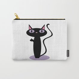 Standing Birdie Cat Carry-All Pouch