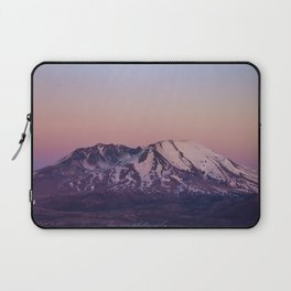 Mount Saint Helens at dusk Laptop Sleeve