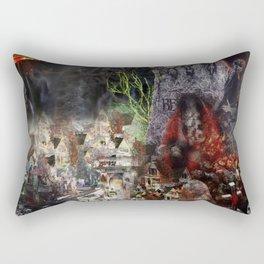 Tim Burton Beetle Juice Rectangular Pillow