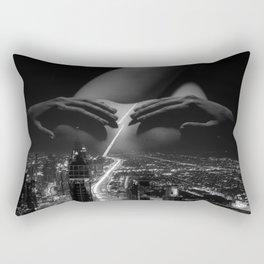 strip down Rectangular Pillow