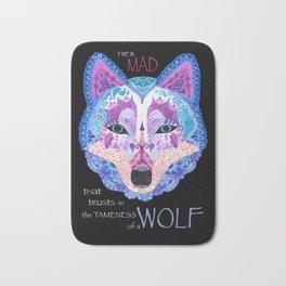 Shakespearean Wolf Bath Mat
