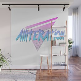 Alliteration Wall Mural