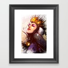 Evil Queen Framed Art Print