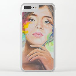 Color me Clear iPhone Case