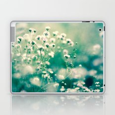 White and Green Laptop & iPad Skin