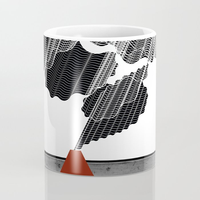 Little Red Volcano Coffee Mug