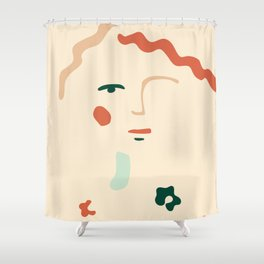 Inspired by Diane Shower Curtain