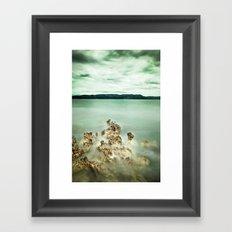 Timeless sea Framed Art Print