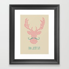 Ohh Dear Sir Framed Art Print