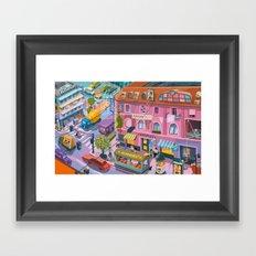 My little Budapest Framed Art Print