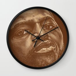 round 8..chad dawson Wall Clock