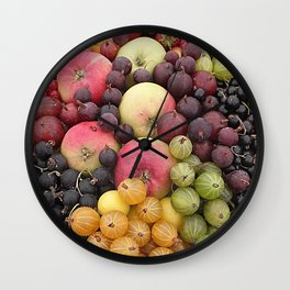 Five a Day Wall Clock