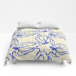 Seaweed Abstract Comforters