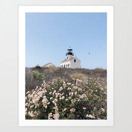 Old Point Loma Lighthouse - III Art Print