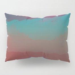 Ombre Mountainscape (Sunset Colors) Pillow Sham