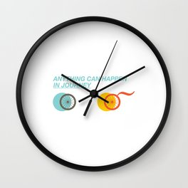 Journey 3 Wall Clock