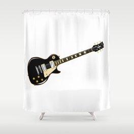 Rock Standard Guitar Shower Curtain