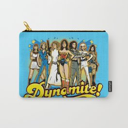SuperWomen of the 70s - DyNoMite! Carry-All Pouch