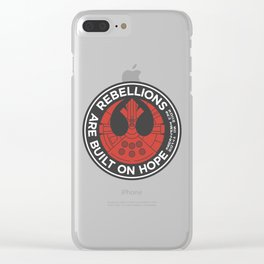 Rebellions are Built on Hope Clear iPhone Case