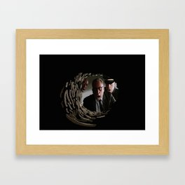 The most shocking event in the film history! Framed Art Print
