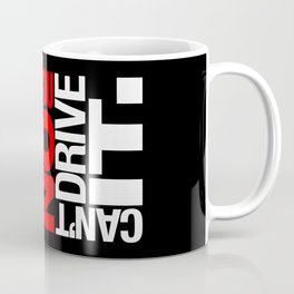 Yes it's fast No you can't drive it v1 HQvector Coffee Mug