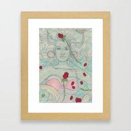 Ophelia Gaze Framed Art Print