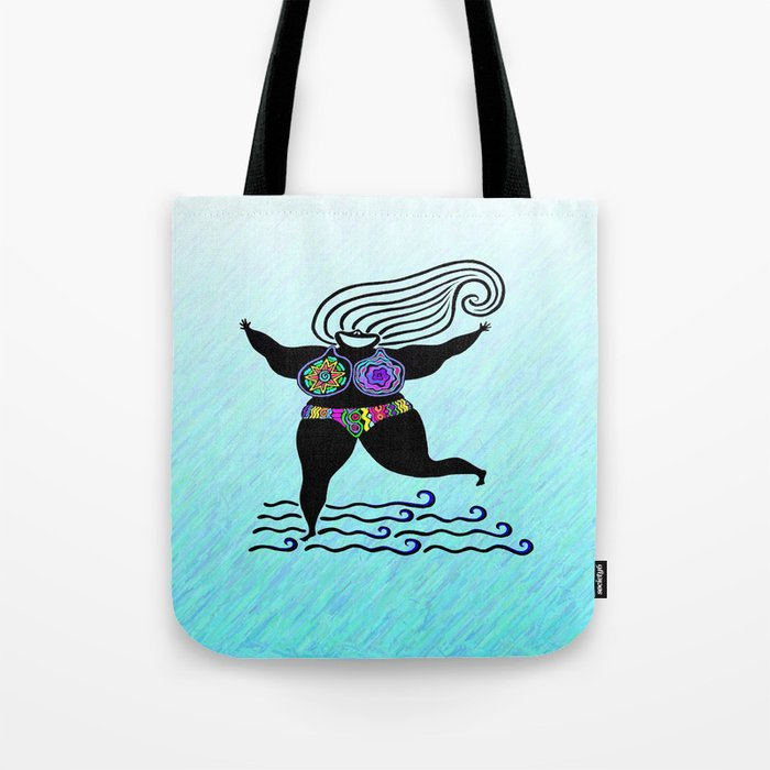 GODDESS OF GOOD ATTITUDE II Tote Bag