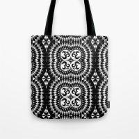 om Tote Bags featuring Om by MandalaHealingArt